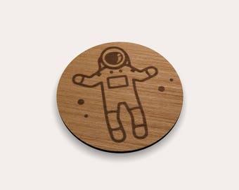 Astronaut 262-537 Coaster (Set of 4)