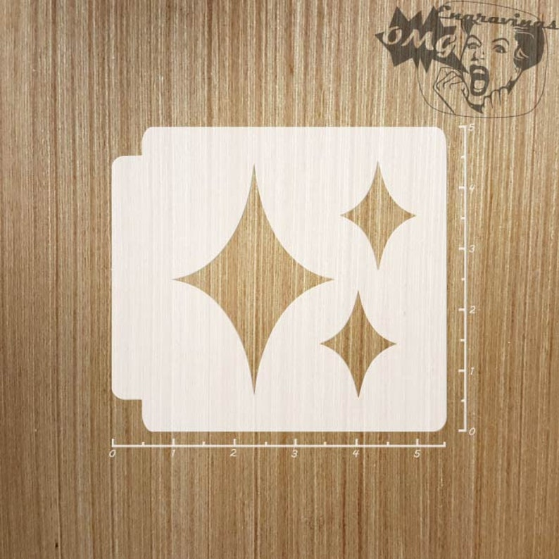 Emoji Sparkle 783-755 Stencil