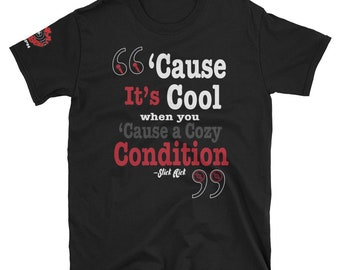 Cozy Condition Tee | Slick Rick | Vinyl Verses | Hip Hop