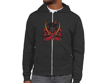 King David Freedom Fresh Zip Hoodie sweater