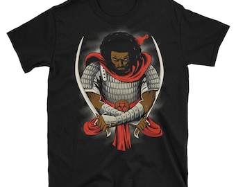 King David T-Shirt- Graphic novel 12 tribes Israelites freedom's hero new freedom