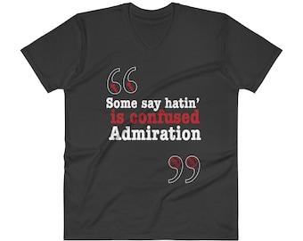 Admiration V-Neck T-Shirt - Vinyl Verse
