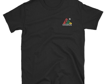 Embroidered Exodus tee
