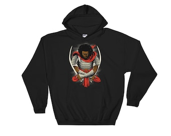 Freedom's Hero Hooded Sweatshirt - Swine Rebel 12tribes