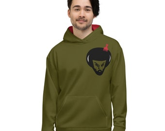 David's Afro Army Hoodie