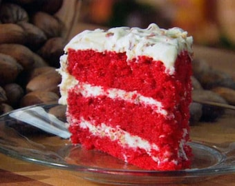 Red Velvet Cake with or without nuts