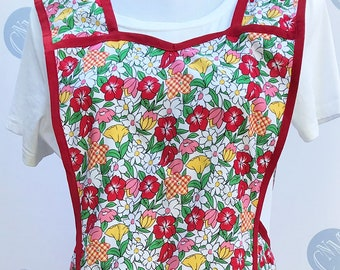 Vintage 1940 Style Full Coverage Wildflower Full Coverage Apron
