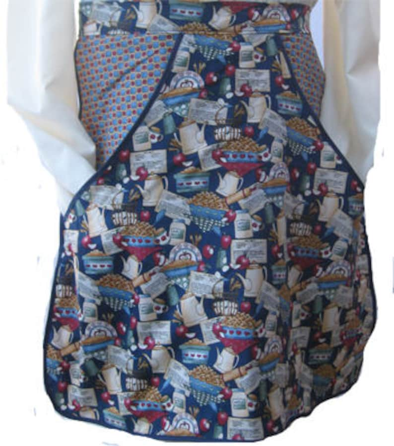 Vintage Country Apple Kitchen Clothespin Waist Apron=Last One