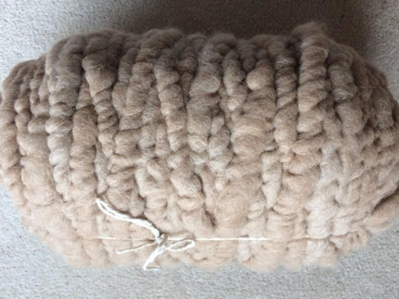 Rug Bump Corespun Rug Yarn Fawn Alpaca 90-yards with Cotton Core