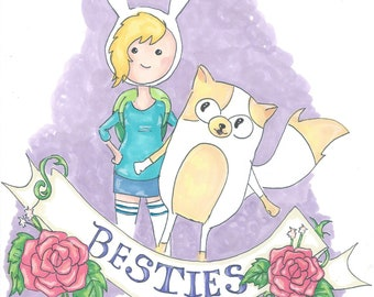 Besties, Fionna and Cake, Adventure time