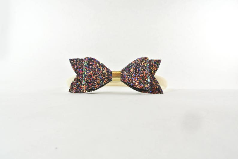 christmas bows,winter hair bow sparkly bow stocking stuffers small headbands baby girl headband hair bows Baby hair bows glittery bow