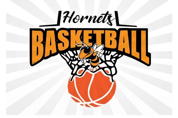 Hornets Basketball Svg Dxf Eps Cut Etsy