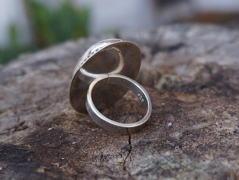 Sterling Silver Unikite Ring Unite Statement Ring