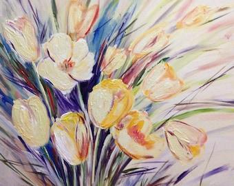 Yellow Tulips, Wall Art