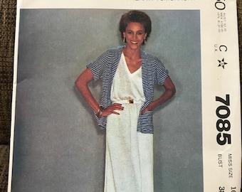 Jacket and Dress Sewing Pattern