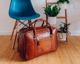 eaf3452539 Leather Duffle Bag