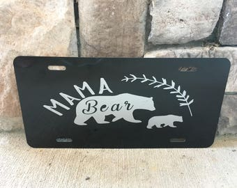 Mama Bear License plate/Perfect Mothers Gift