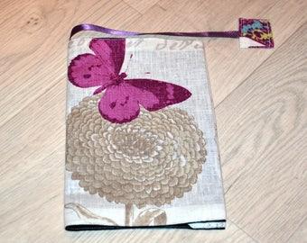 Protects beige butterflies Fomat pocket book