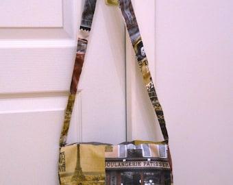 Paris Crossbody bag of yesteryear camel Brown