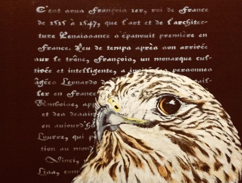 The literary hawk image 0