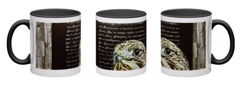 The Literary Hawk Mug image 0