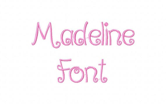 Sale! Madeline Embroidery Fonts 3 Fonts PES Fonts Alphabets Embroiderey BX  Fonts Embroidery Designs Letters - Instant Download