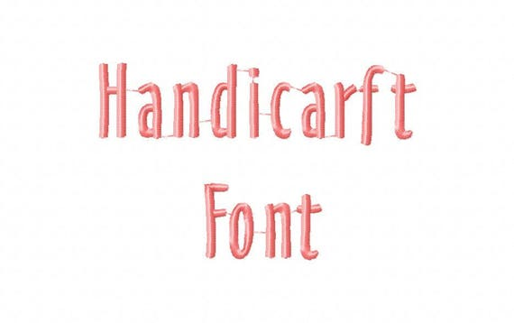 Sale! Handicarft Embroidery Fonts 5 Fonts PES Fonts Alphabets Embroidery BX  Fonts Embroidery Designs Letters - Instant Download