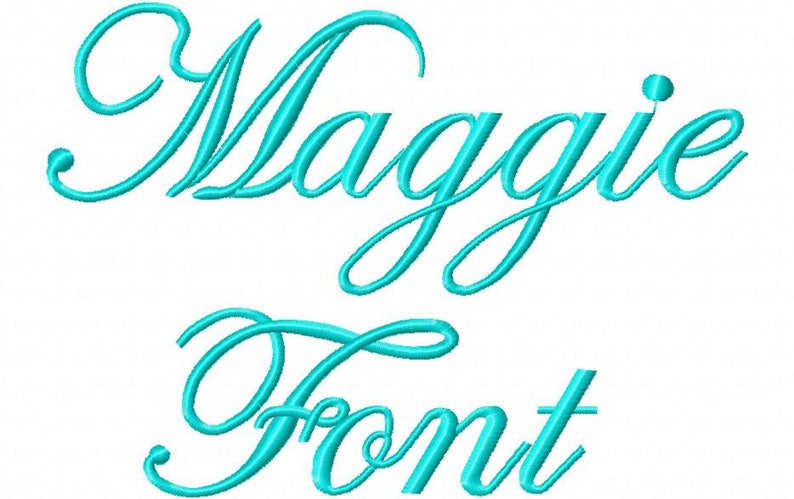 Sale! Maggie Embroidery Fonts 3 Fonts PES Fonts Alphabets Embroiderey BX  Fonts Embroidery Designs Letters - Instant Download
