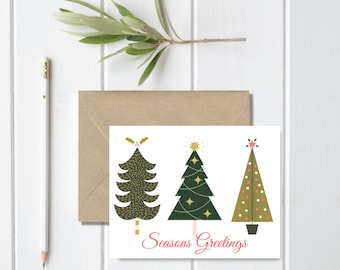 Unusual Boxed Christmas Cards.Boxed Christmas Card Etsy