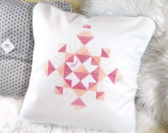 Geometric pattern - Royal cushion