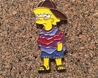 Hippy Lisa Hat Pin