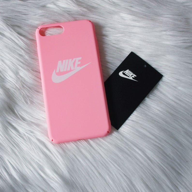 watch 6710b ae8f1 Nike Phone Case - Pink - iPhone Case - Nike - Nike iPhone Case -iPhone 6/6s  - iPhone 7/7 Plus - iPhone 8 - iPhone X