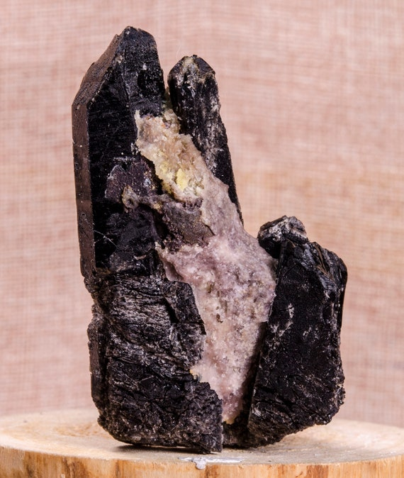 Raw Black Tourmaline,Black Tourmaline Chunk,Raw Gemstone,Purification,Protection,GroundingTherapy,Healing,Mineral Specimen,Sell by weight