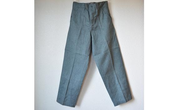 Warehouse Swiss army gray denim pants, Unused Vint