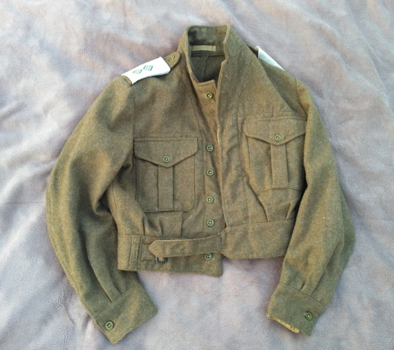 Unused British Military 1949 Pattern Blouse Battl… - image 5