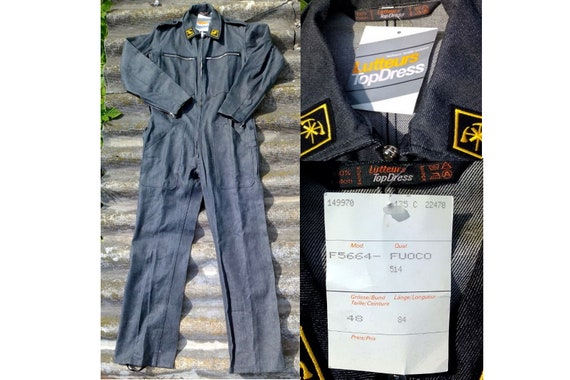 Unused Swiss Army Overalls, Firefighters overalls,