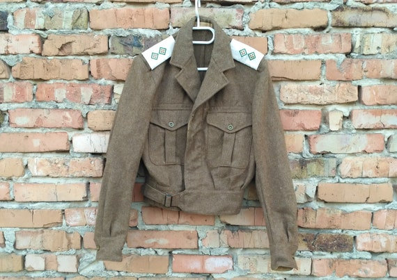 Unused British Military 1949 Pattern Blouse Battl… - image 1