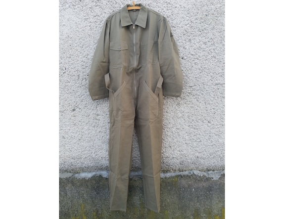NEW Unused Swiss Army Overalls, Military Coveralls