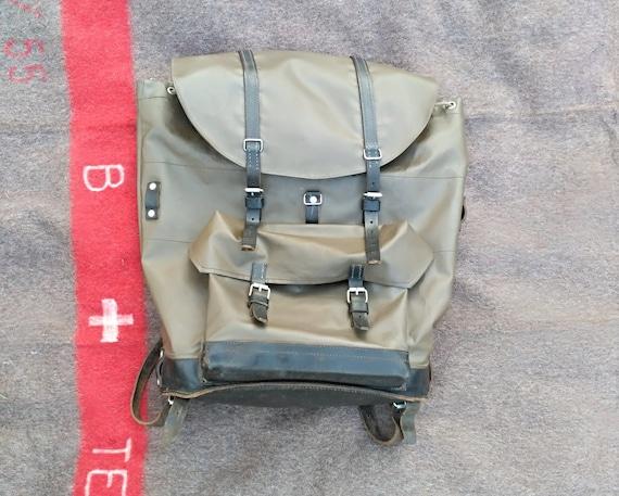 Vintage Larmée Army sac dos à Swiss à sac Etsy dos suisse gqUq5wZ