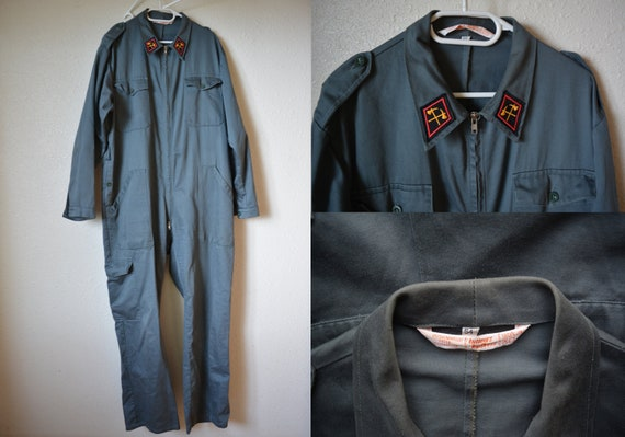 Original Swiss Army Overalls made by Lutteurs, Mil