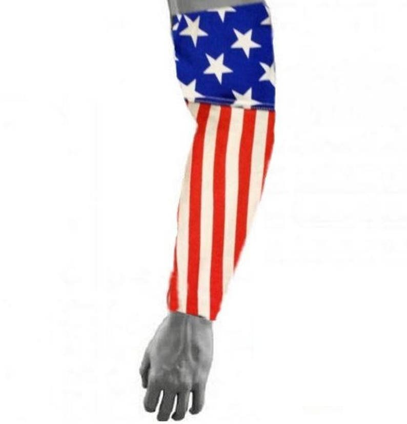 8bbb328682 USA Flag America Baseball Football Compression Arm Sleeve | Etsy