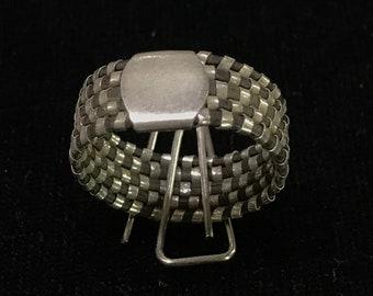 Elephant hair ring