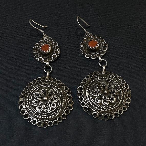 Berber earring, amazigh earring. Moroccan earring