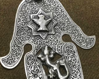 Antique  silver << khamissa >>