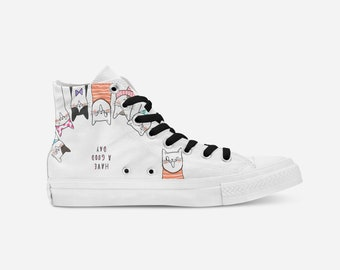 ee8040712ca6 Dog Custom ShoesPrinted Canvas ShoesFunny ShoesCool Printed