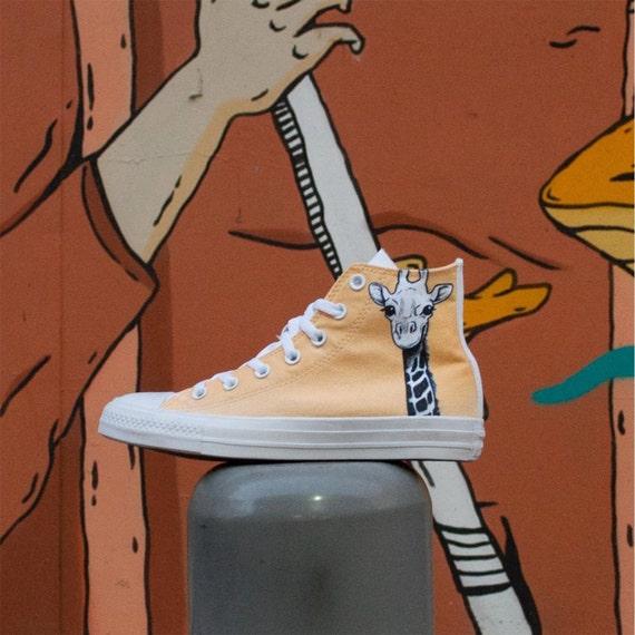 Giraffe ConverseGiraffe ShoesCartoons