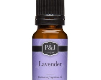 Lavender Slime Scents Fragrance Oils P&J Scent Oil 10ML Aroma Supplies Ingredients Slimes Bath Bombs Soaps Candles Supply Crafts