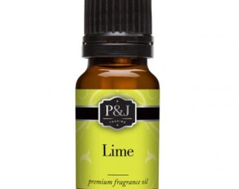 Lime Slime Scents Fragrance Oils P&J Scent Oil 10ML Aroma Supplies Ingredients Slimes Bath Bombs Soaps Candles Supply Crafts