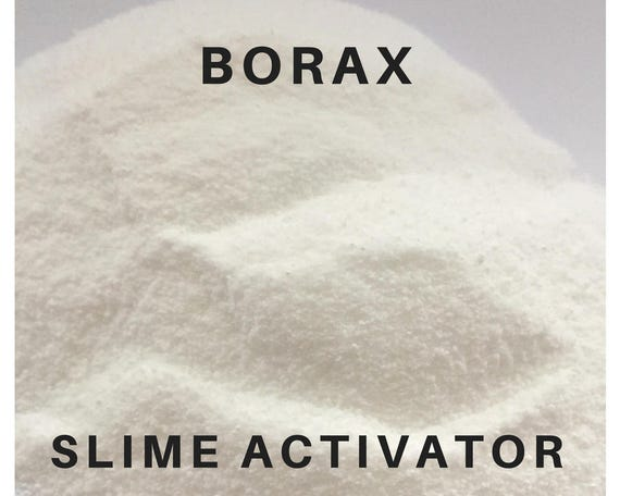 Borax slime activator slime activating ingredient etsy image 0 ccuart Choice Image