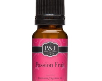 Passion Fruit Slime Scents Fragrance Oils P&J Scent Oil 10ML Aroma Supplies Ingredients Slimes Bath Bombs Soaps Candles Supply Crafts